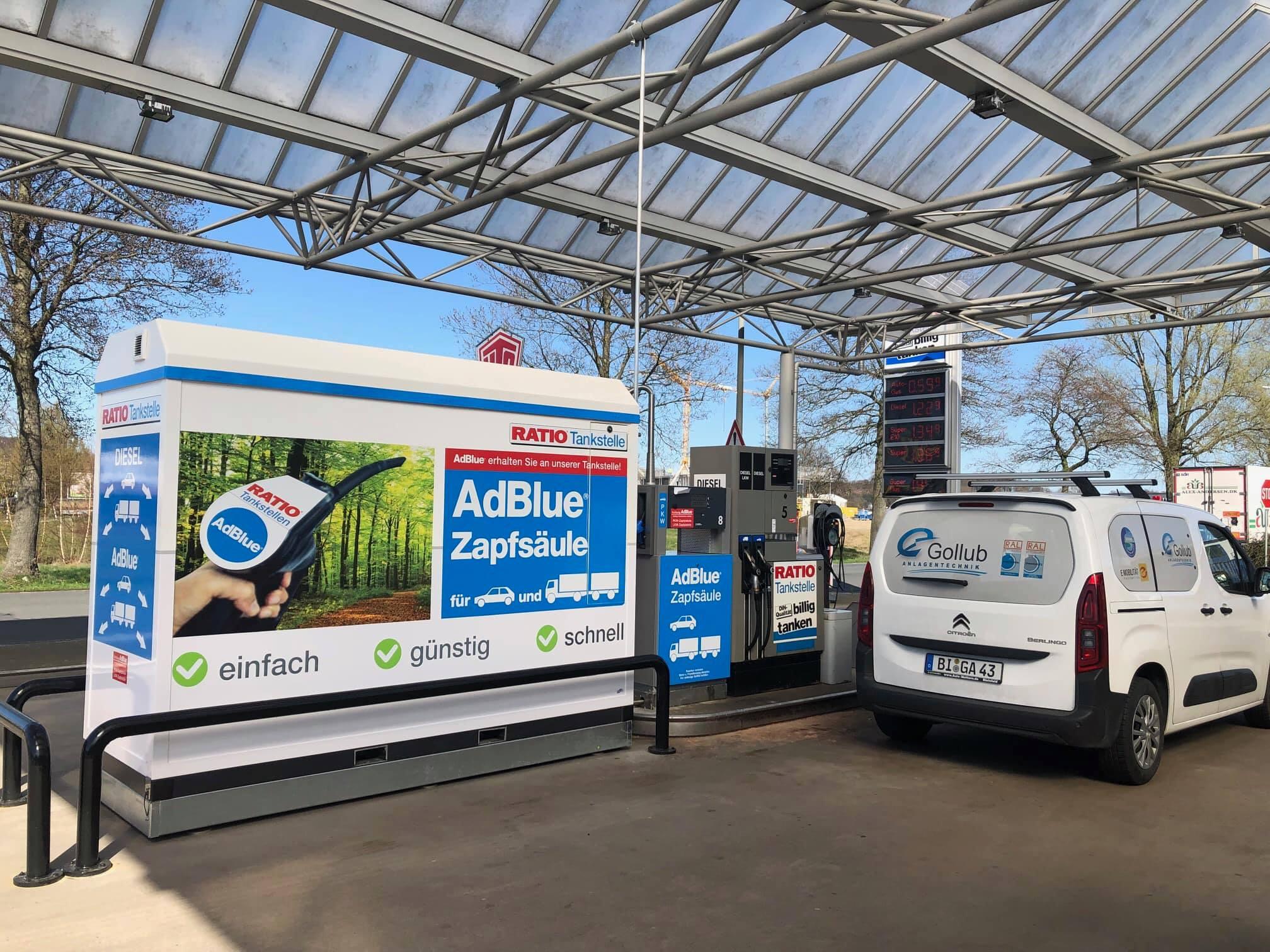 Neuer AdBlue Container Ratio Osnabrück