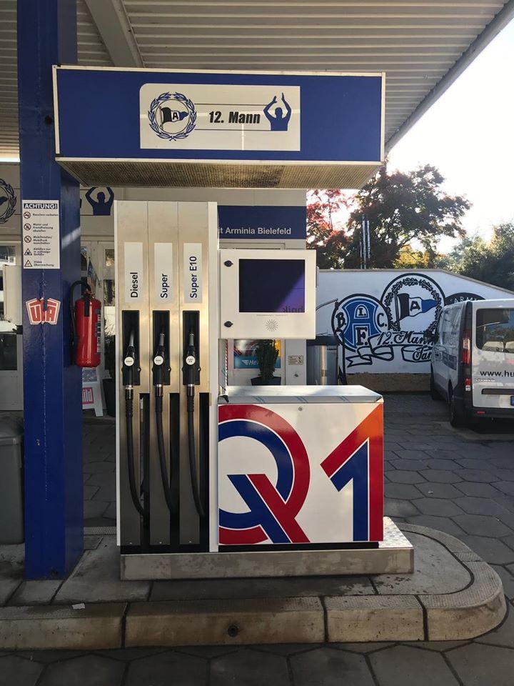 DSC Arminia Tankstelle Bielefeld